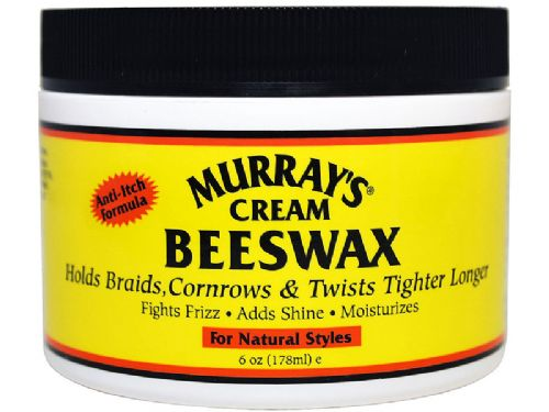 Murrays Cream Beeswax For Natural Styles 178ml